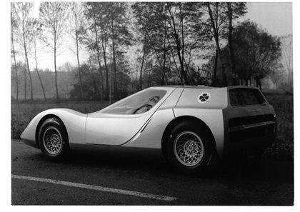 1966 Alfa Romeo 1600 Scarabeo Concept by OSI (Officina Stampaggio Industriale)