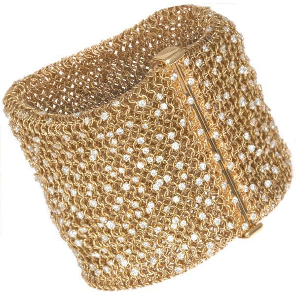 Bracelets Ideas Sidney Garber Woven Gold Diamond Bracelet