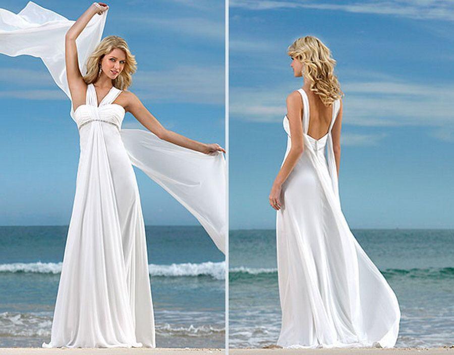 Simple Wedding Dresses for Beach Weddings