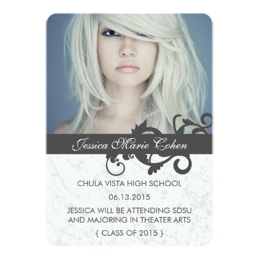 Wild Class of 2015 Graduation Announcement CARDS GRADUATION