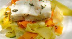 Mincir avec thermomix - Spécial régime DUKAN : Poisson aux tagliatelles de légumes - DUKAN