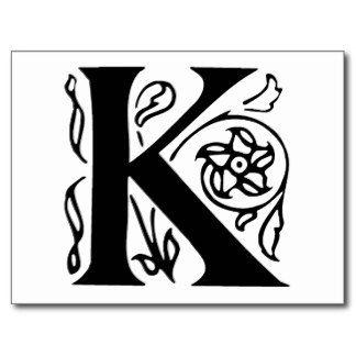 fancy alphabet letter templates