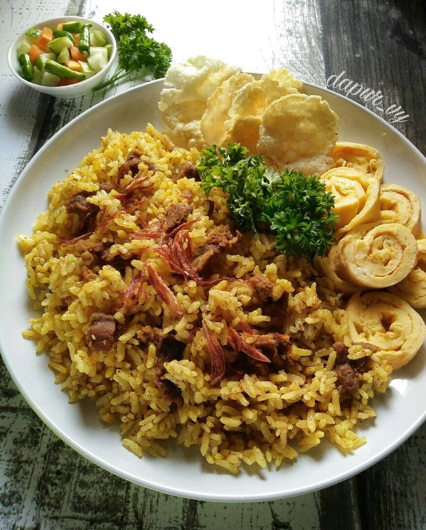 Resep Nasi Kebuli Magicom Kitaberbagi Oleh Dapurvy Resep Jurnal Makanan Resep Masakan Resep