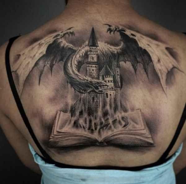 artist spotlight darwin enriquez drache drachen und ausgefallene tattoos. Black Bedroom Furniture Sets. Home Design Ideas