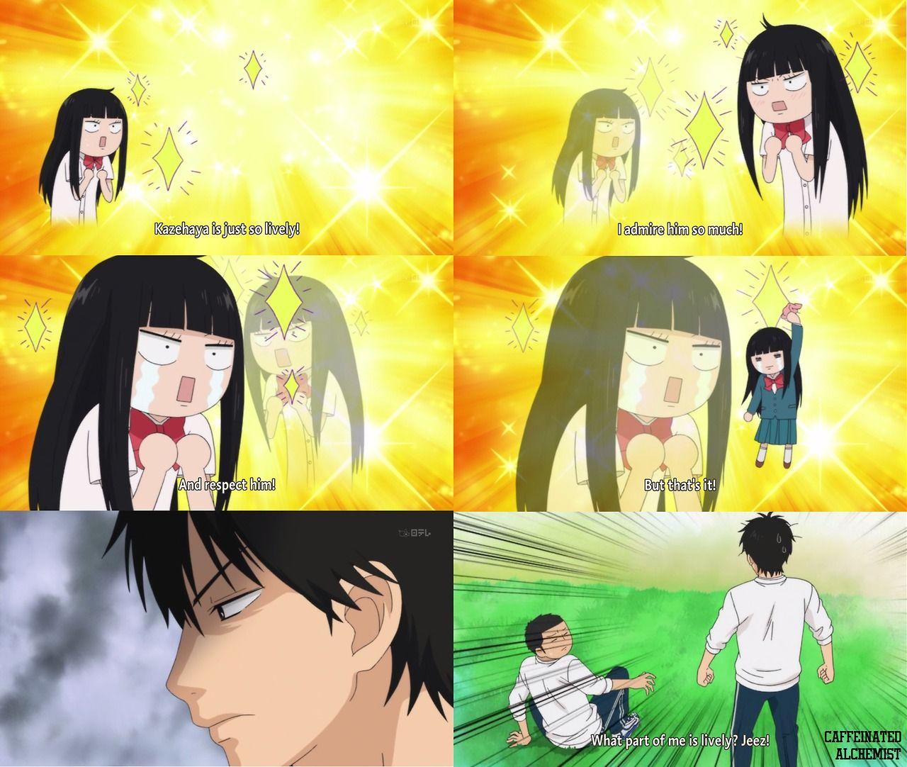Lively kazehaya shouta kimi ni todoke lovely complex anime