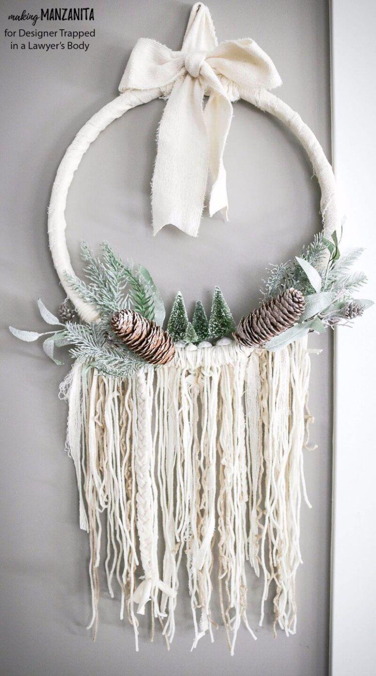 Photo of 7 Bold DIY Boho Chic Christmas Wreaths | Diyundhaus.com