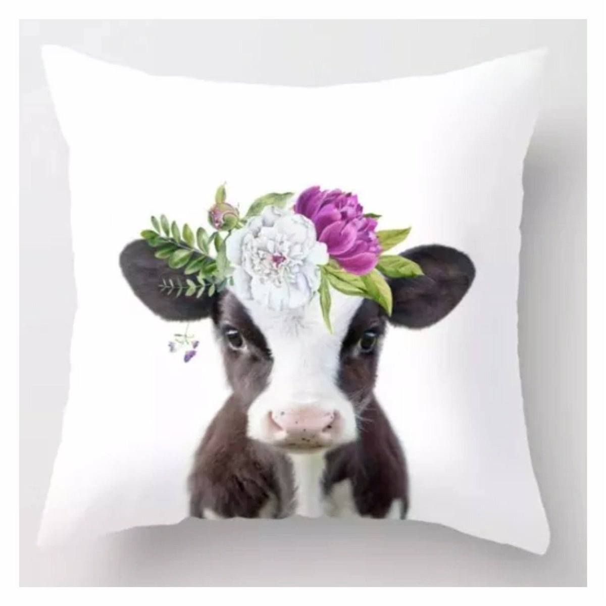 Cushion Pillow Baby Cow Calf With