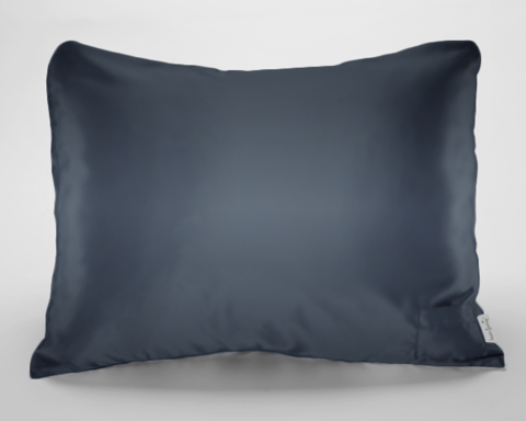 New Grey Satin Pillowcase For Women Teens Satin Pillowcase