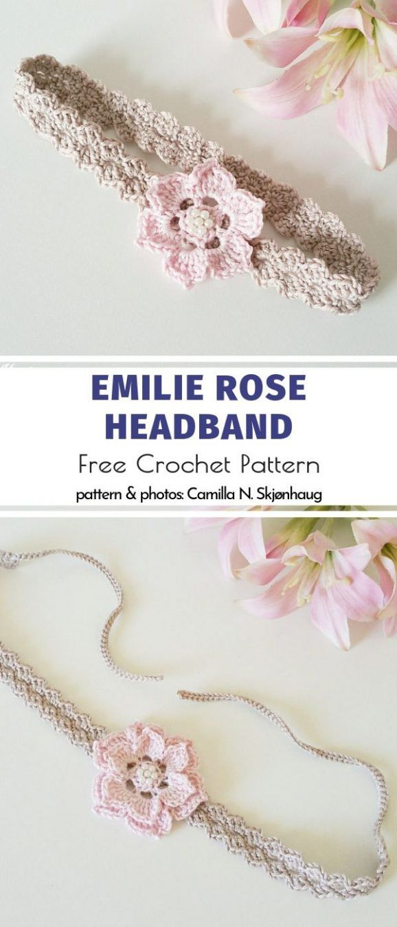 Cool Crochet Headbands Free Patterns