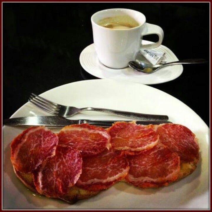 Desayuno iberico... uummmhhhh..