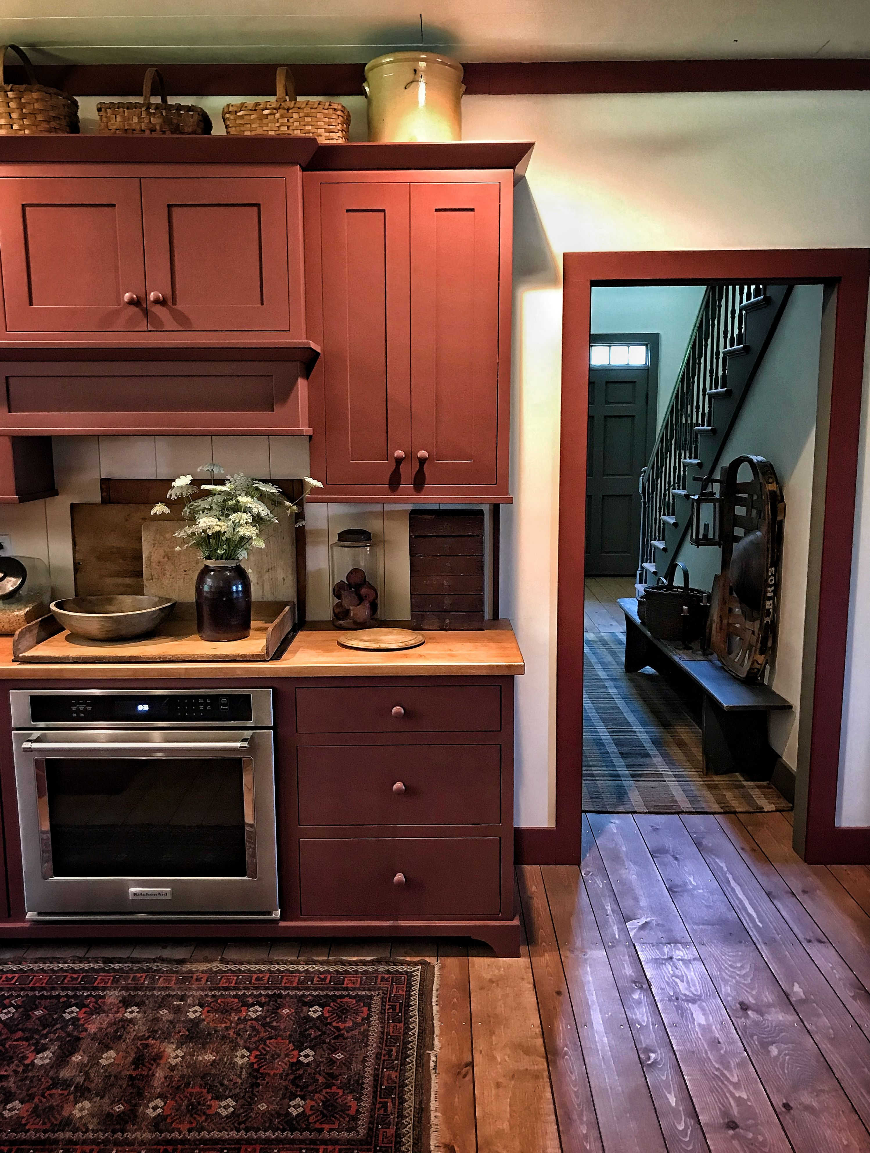 Primitive Kitchen Before And After Kitchen Cabinet Remodel Kitchen Cabinets New Kitchen Cabinets
