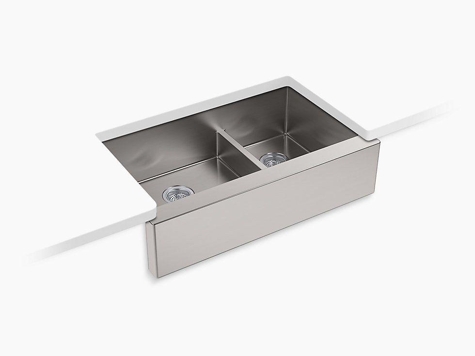 Kohler Strive K 5416 Na 35 1 2 Quot Stainless Farmhouse Sink