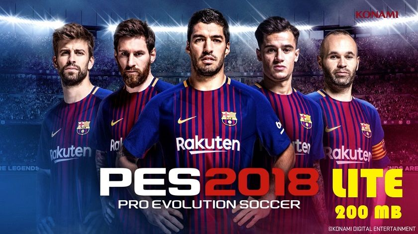 Pes2018 Lite MOD Apk Data Download | Data | Pro evolution