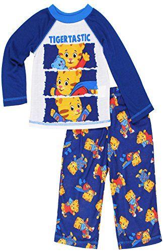 Daniel Tigers Neighborhood Toddler Boys 3-Piece Blue Sleepwear Pajama Set