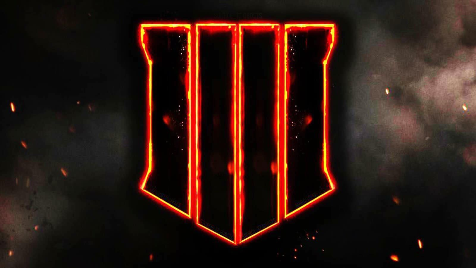 The Bo4 Logo Call Of Duty Black Black Ops 4 Call Duty Black Ops