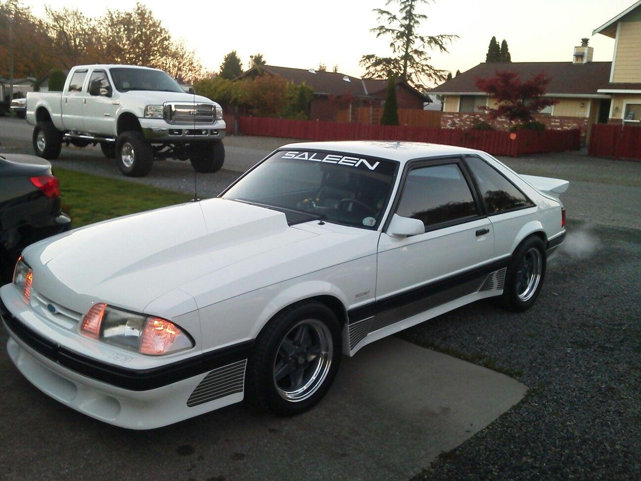 1989 Saleen Mustang Saleen Mustang Fox Body Mustang Fox Mustang