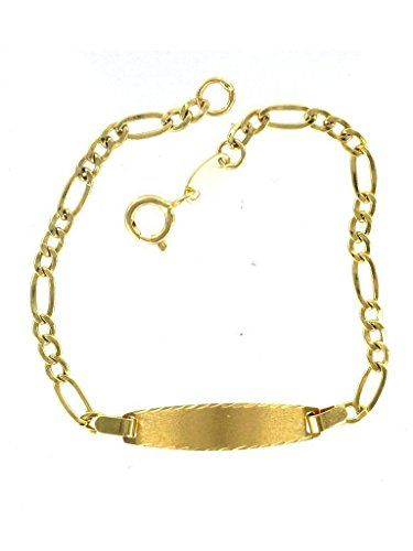 ESCLAVA ORO BEBE 1026-W ORO LEY 18 KLTS | Your #1 Source for Jewelry and…