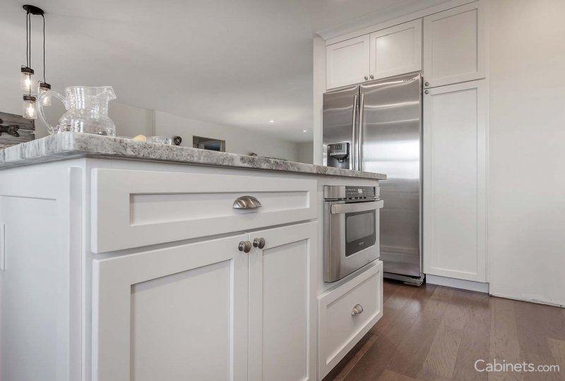Colonial II Maple Bright White | Kitchen bay window ...