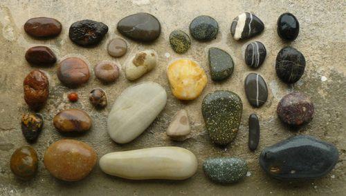 Smooth Shiny Stones Stone Beach Stones Shiny