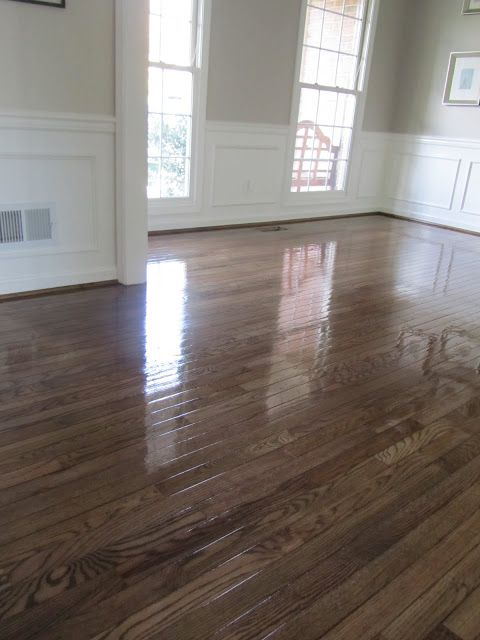 Acanthus And Acorn The Process Of Refinishing Hardwood Floors Before And After Refinishing Hardwood Floors Hardwood Floors Hardwood Floor Colors