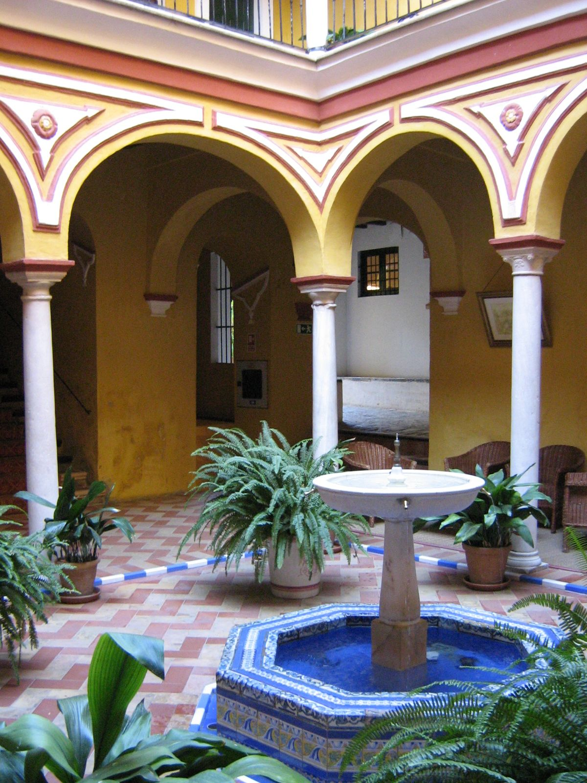 Courtyard at Las Casas De La JUDERÍA, Seville Favorite