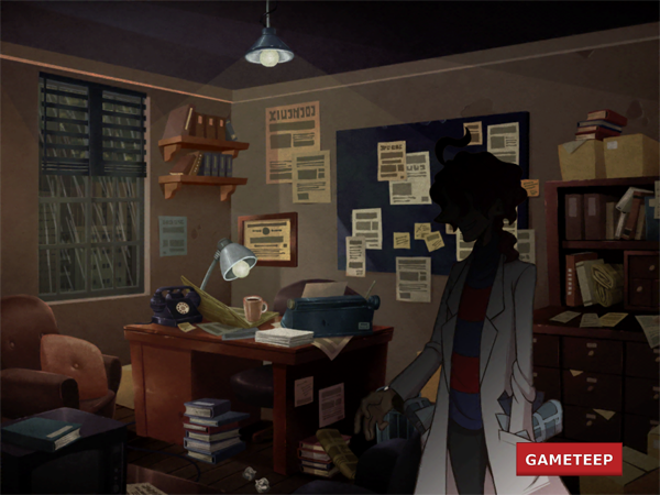 Fig 60 Layton Brothers Mystery Room  Environments_Riding_Hood  Mystery room Layton