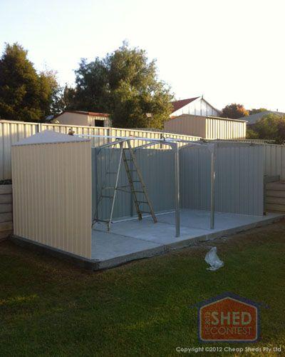Garden Sheds 3m X 3m mark hortle - absco highlander 6m x 3m shed | the sheds contest