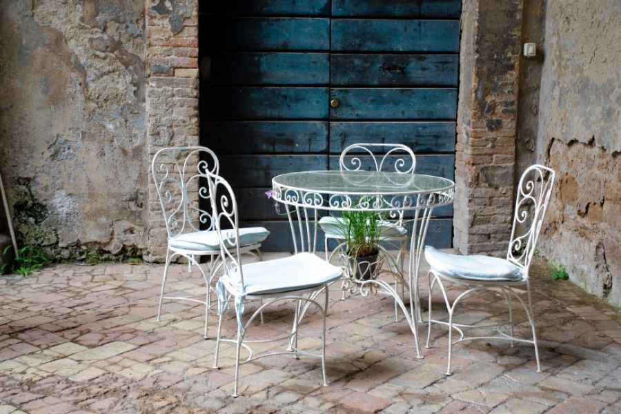 gartenm bel gartenhaus 6 terrassengestaltungsideen stylecheck gartenm bel vintage shabby. Black Bedroom Furniture Sets. Home Design Ideas