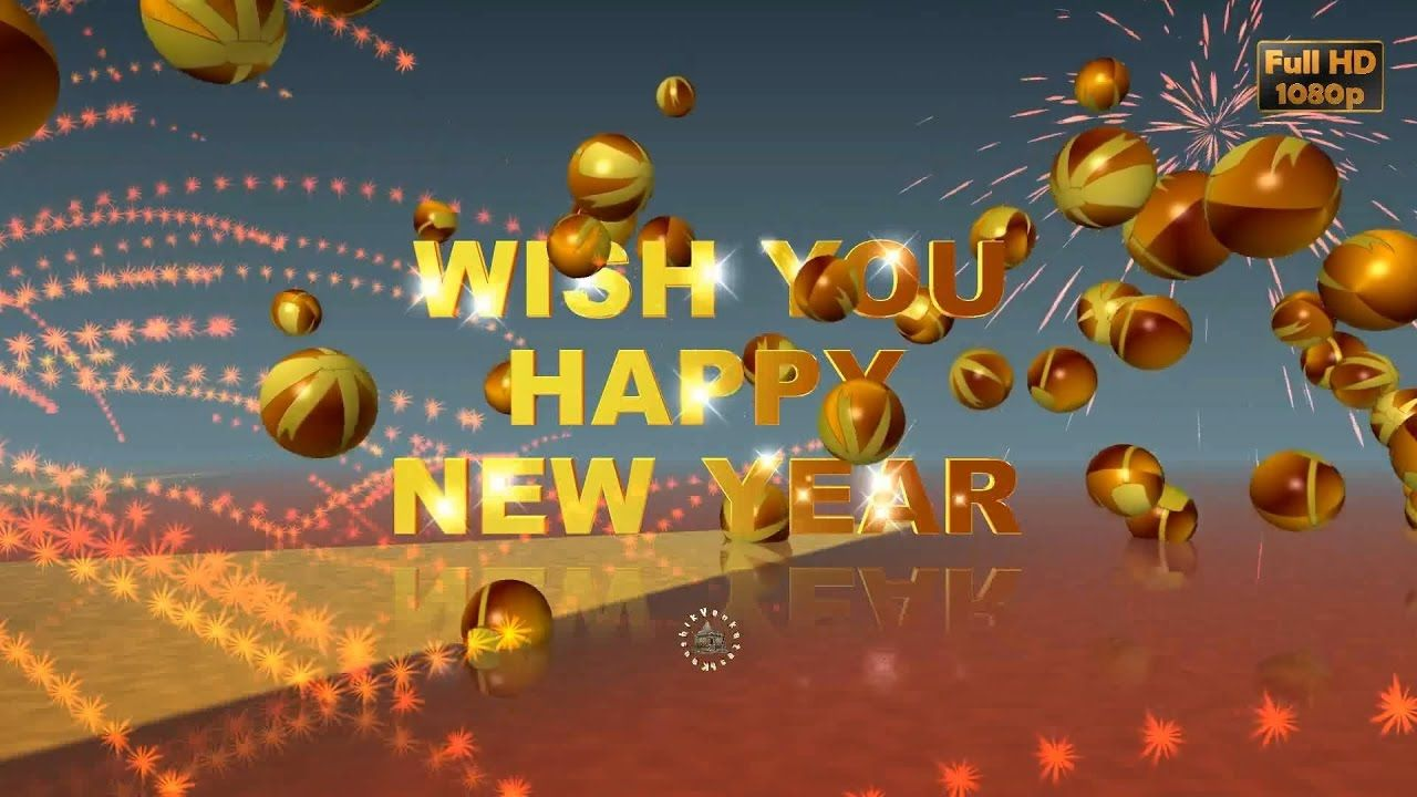 Happy New Year 2017 Wisheswhatsapp Videonew Year Greetings