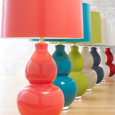 Solid Color Table Lamps Shades Of Light Simple Headboard