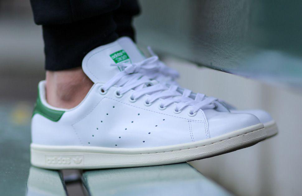 stan smith adidas green or blue