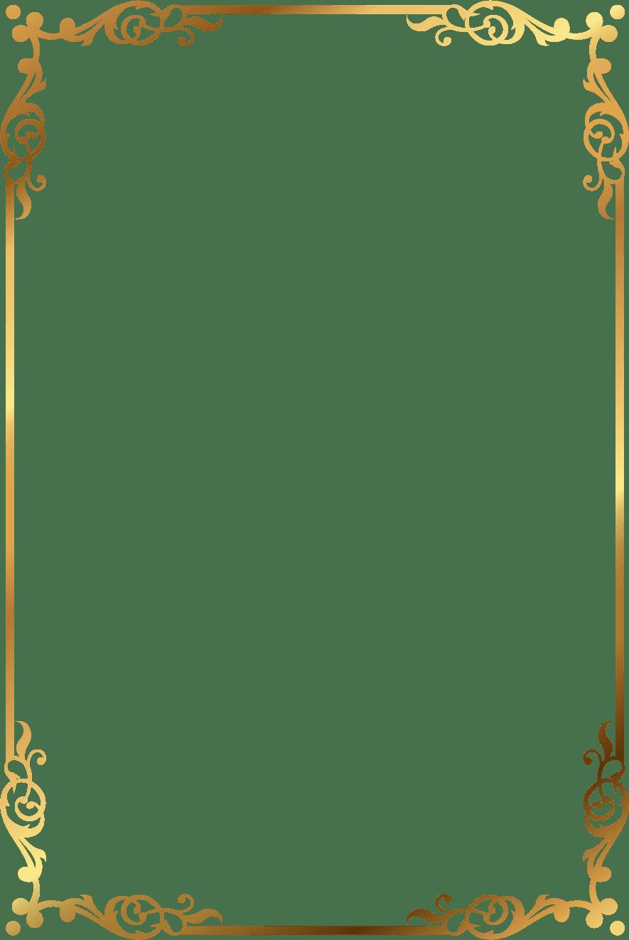 Picture Frame Photography Gold Photo Frame Image And Clipart Transparent Background Bingkai Foto Desain Bingkai Kartu Pernikahan