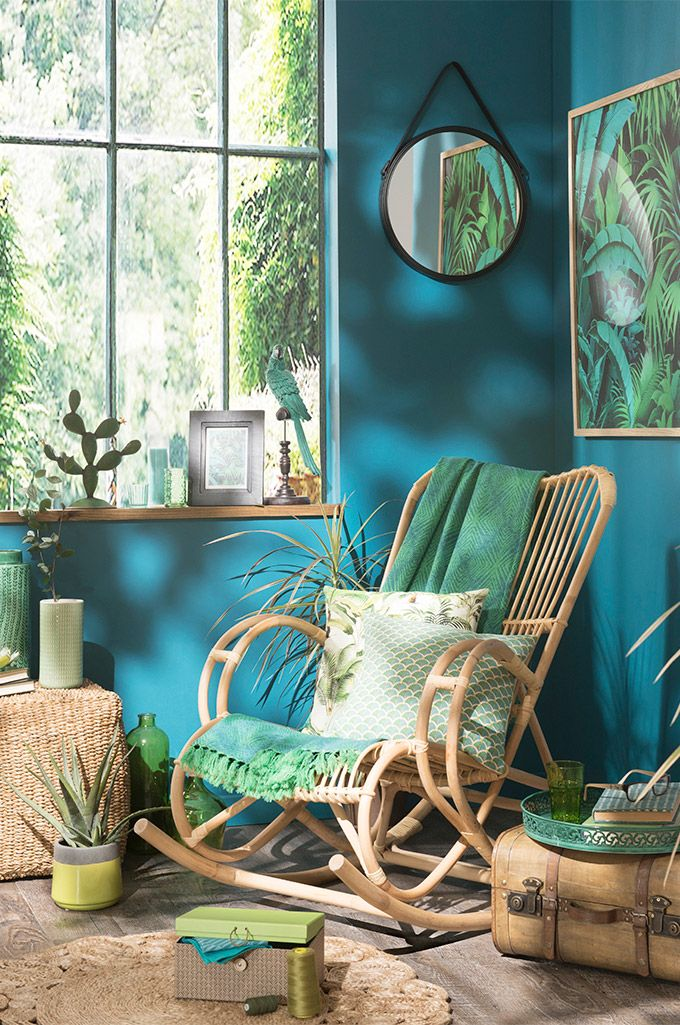 tendencia urban jungle aqua jungle maisons du monde