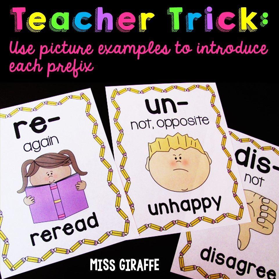 Prefixes Re And Un Anchor Chart Prefixes Prefixes And Suffixes Kindergarten Anchor Charts [ 960 x 960 Pixel ]