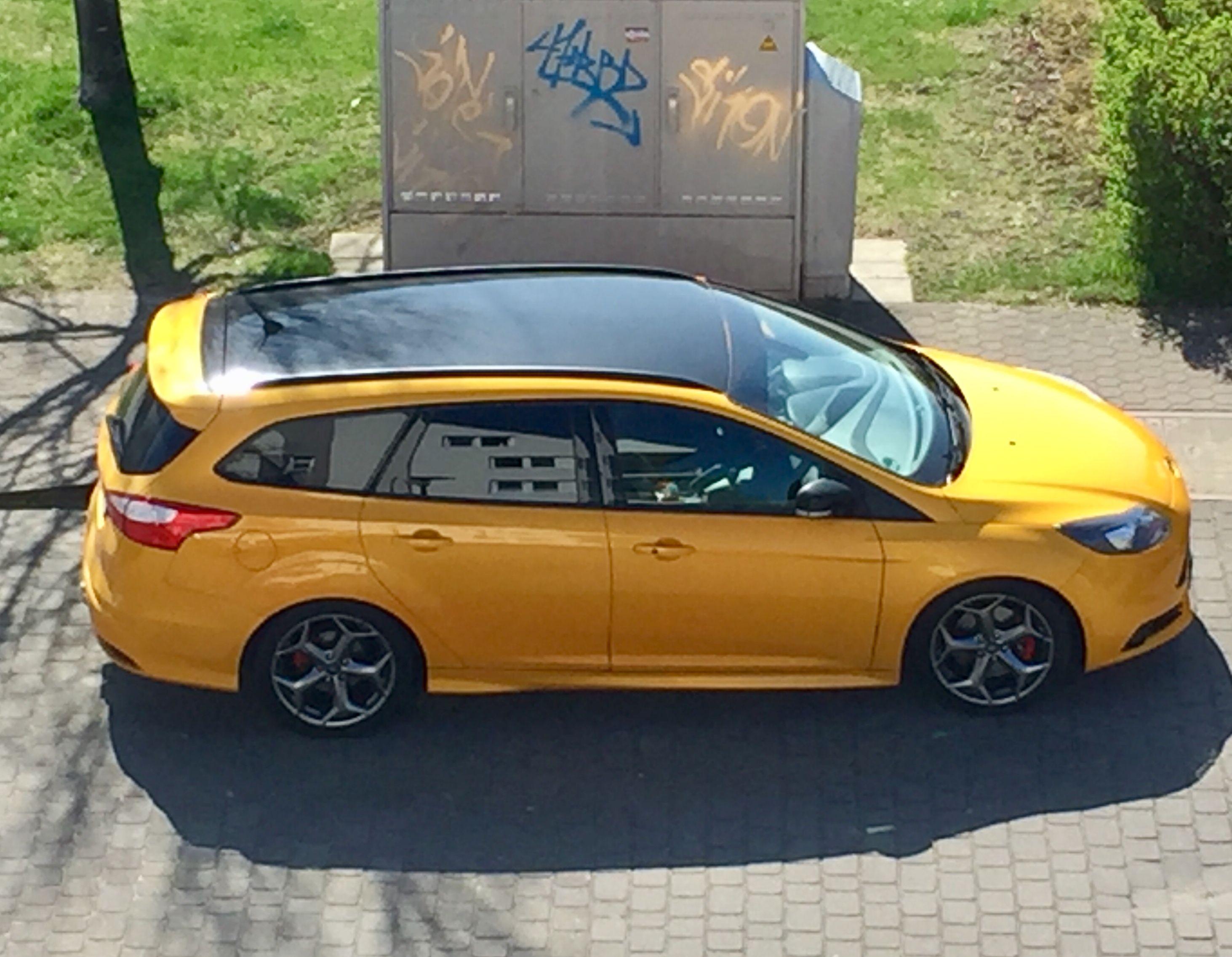 Ford Focus St Schwarzes Dach Schwarze Spiegel Ford Focus Ford