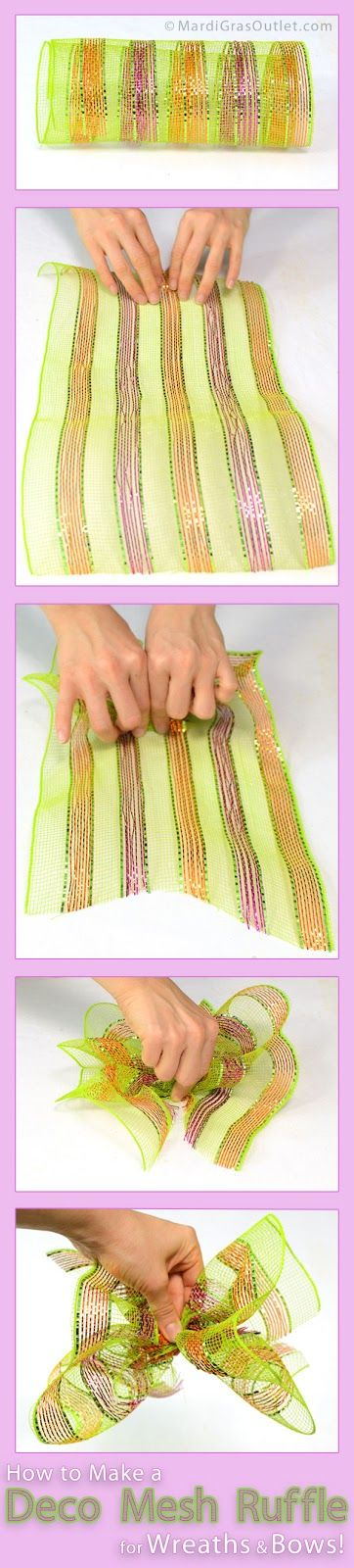Do 10 single ruffles on the outer ring which is one ruffle in each twist tie. Do 6 double ...