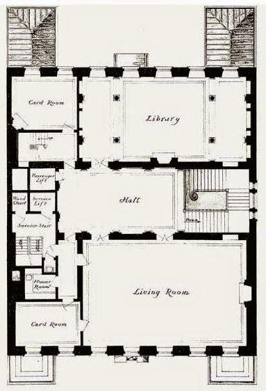 1927 Marshall Field Residence 4 6 8 East 70th Street New York