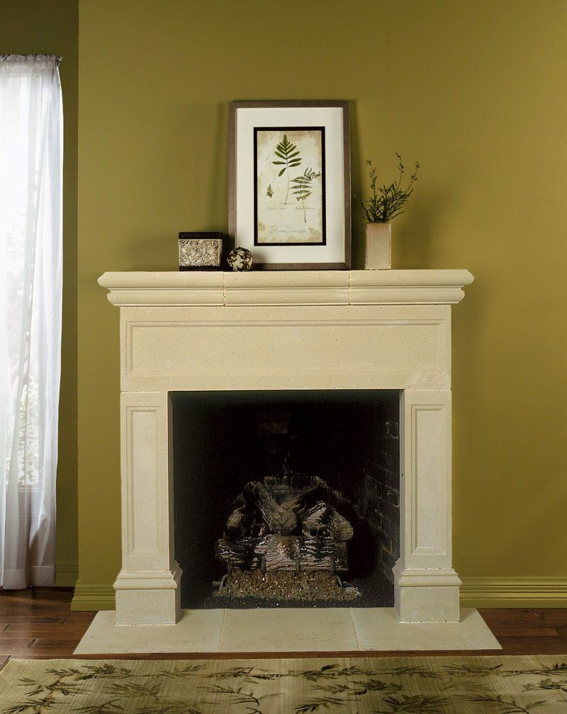 The devon fireplace mantel various leg lengths are available