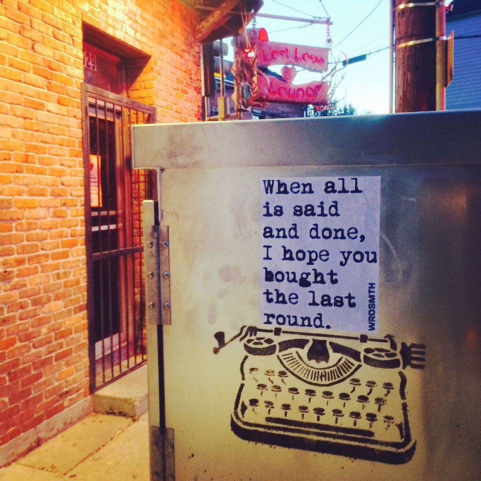 WRDSMTH graffiti writer spreads the word in New Orleans
