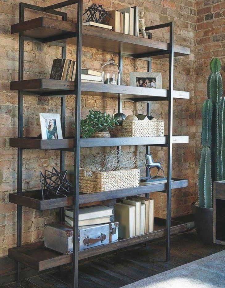 Starmore Bookcase Signature Design in Bookcases. Give your home office an industrial feel with the help of Starmore Home Office Collection by Signature Design. #industrial #industrialfurniture #industrialdecor #industrialdesign #indrustialfarmhouse #industriallighting #furniture #decor #farmhouse #luxuryhomeinterior