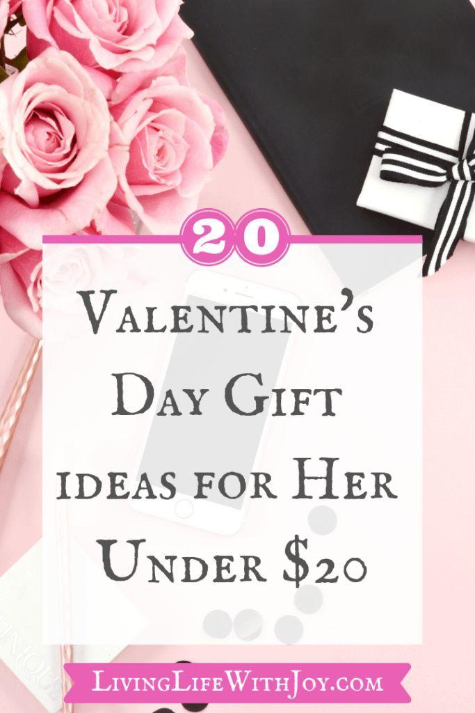 20 Valentines Day Gift Ideas for Her Under $20 | Diy
