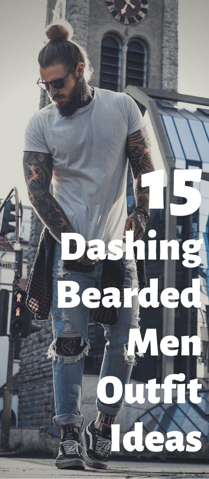 Photo of 15 schneidige bärtige Männer Outfit-Ideen zur Auswahl