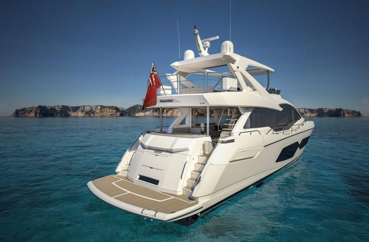 76 Ft 2018 Sunseeker Yacht Makoboatsconsoles With Images