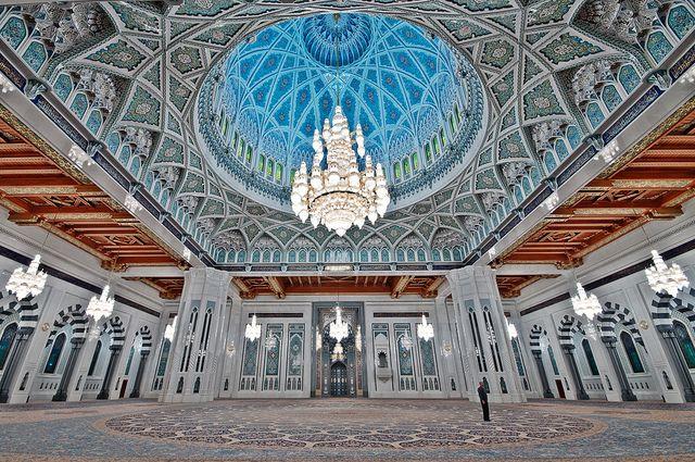 Sultan Qaboos Grand Mosque - Muscat Oman