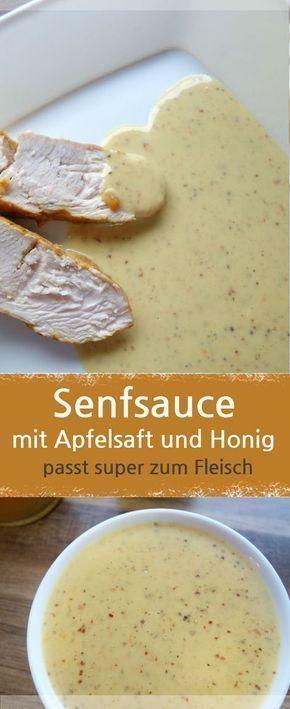 Photo of Senfsauce mit Honig und Apfelsaft zubereitet – MeineStube