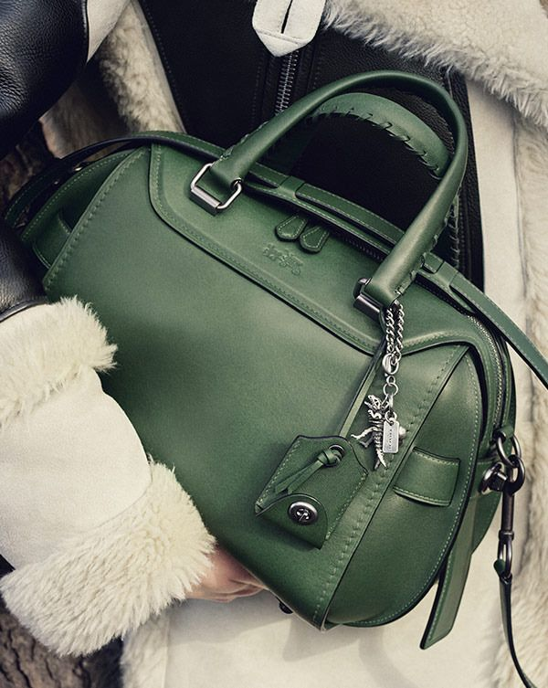 17e762dcb For Her: Ace Satchel in Glovetanned Leather @Coach | 'Tis the Thrill ...