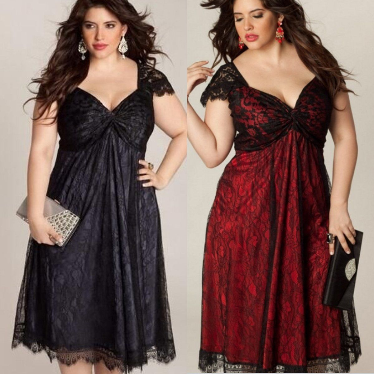 Lace v neck maxi dress  Plus Size Womenus Lace Evening Party Prom Gown Formal Cocktail V