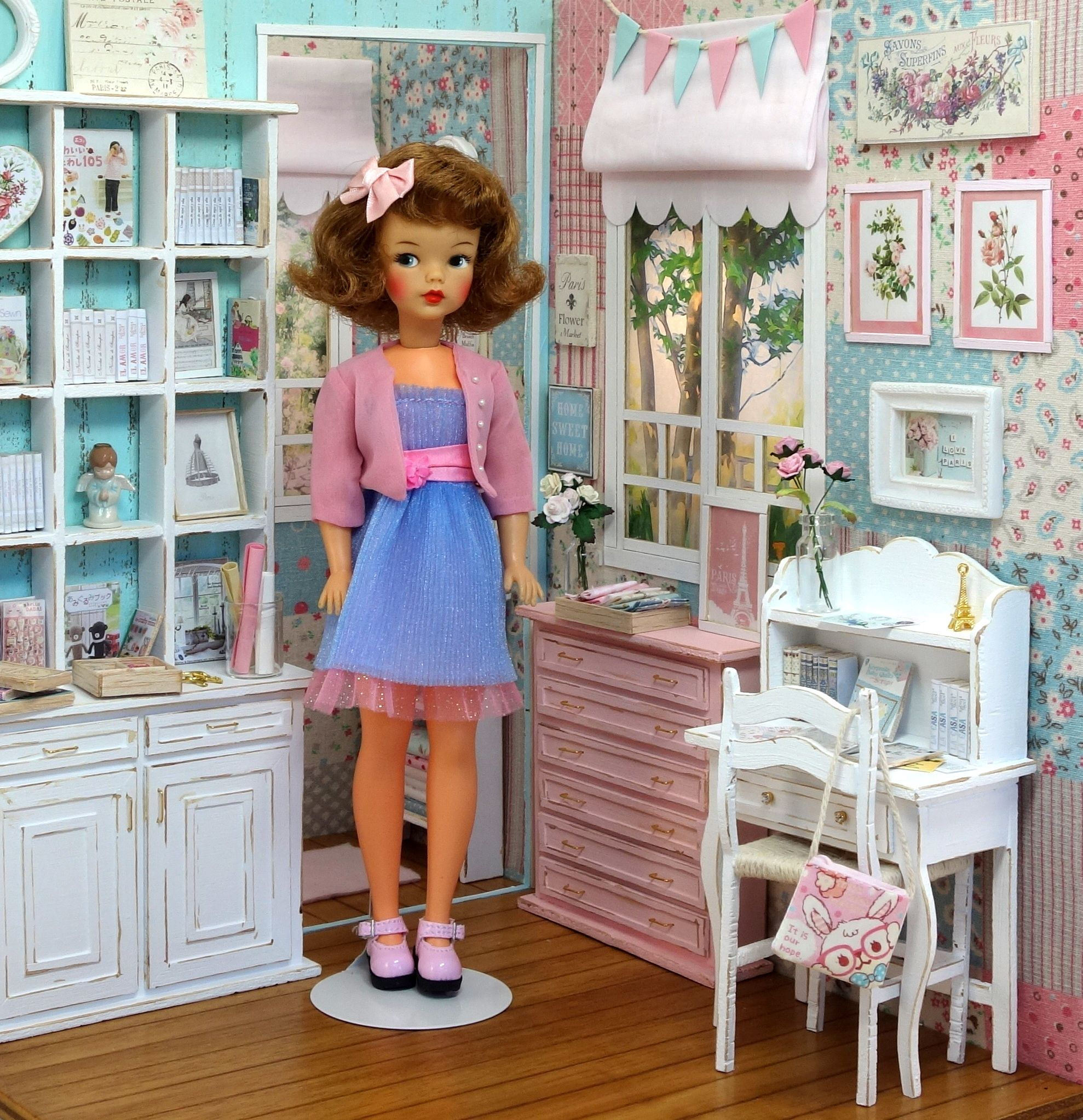 Vintage Tammy doll - photo by Debby Emerson