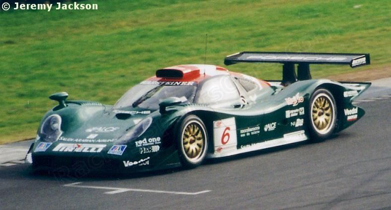 6 - Porsche 911 GT1-98 #004 - Zakspeed Racing FIA GT Championship Donington 1998