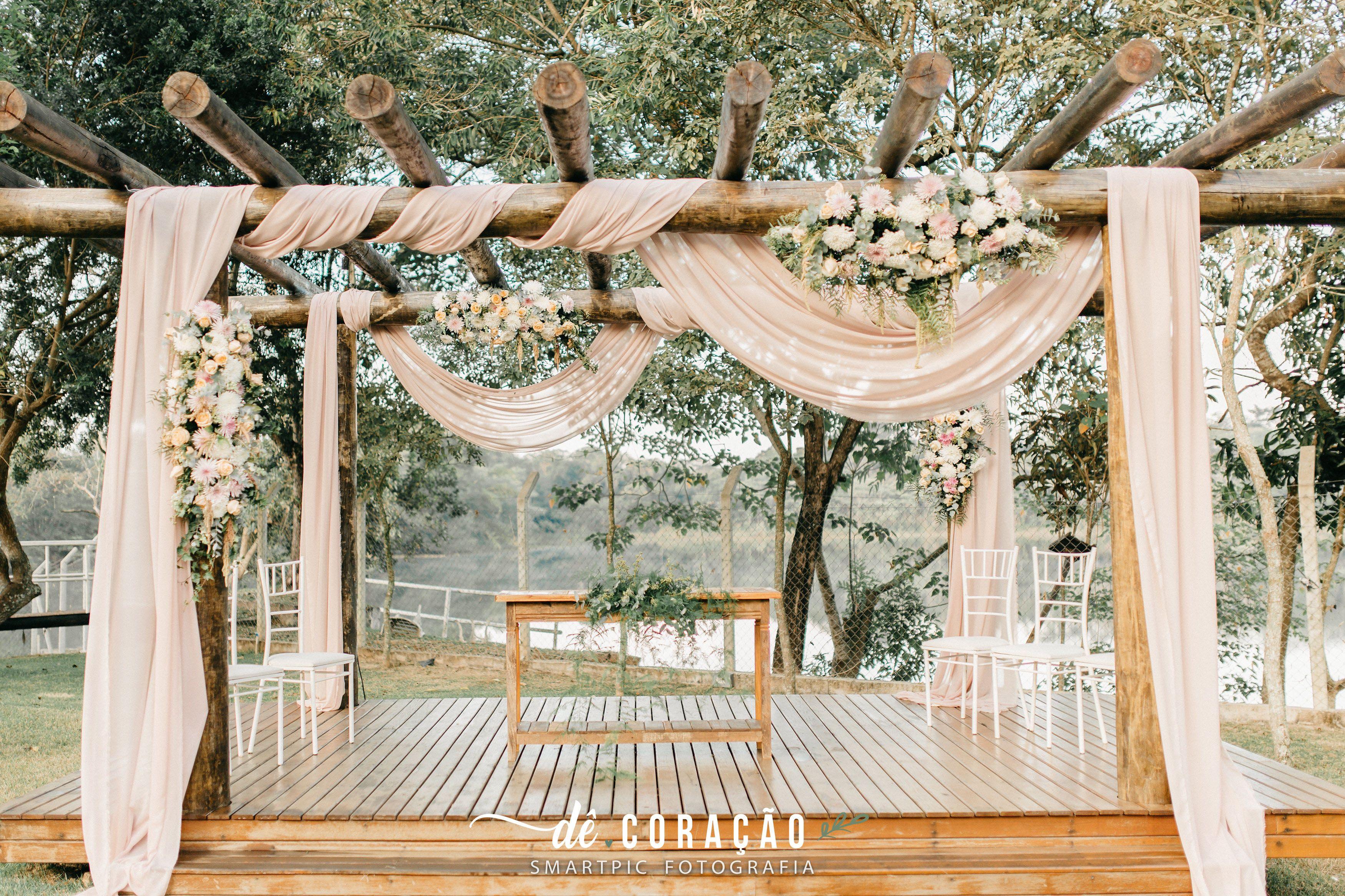 Casamento Nordico Muito Verde E Flores Brancas Cerimonia Ao Ar